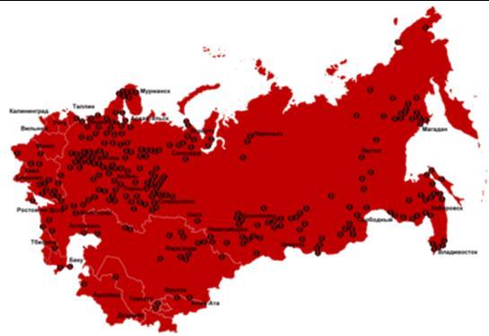 Интегральная карта лагерей